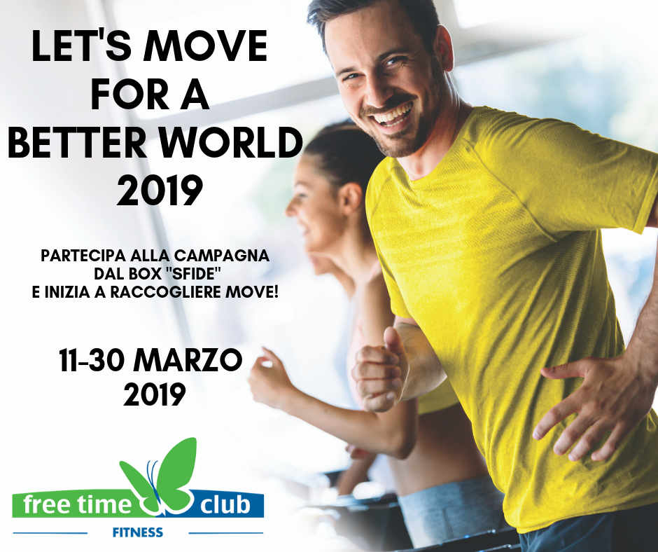 Let's Move for a better World 2019
